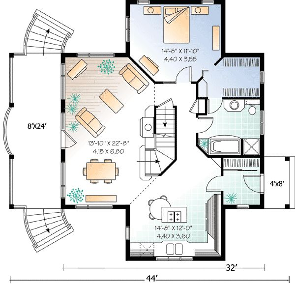 Craftsman Home Plans 2000 Square Feet: 382 Best House Plans Under 2000 Sq Ft Images On Pinterest
