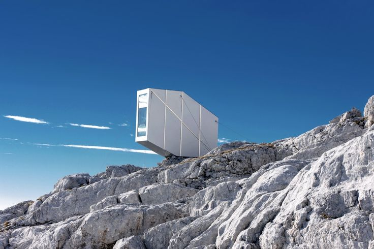 Gallery of Winter Cabin on Mount Kanin / OFIS arhitekti - 5