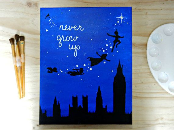 Best ideas about peter pan painting on pinterest peter pan drawing