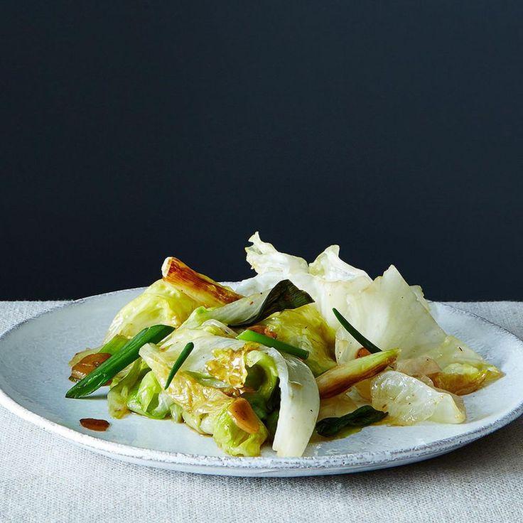 Grace Young's Stir-Fried Iceberg Lettuce Recipe on Food52 recipe on Food52