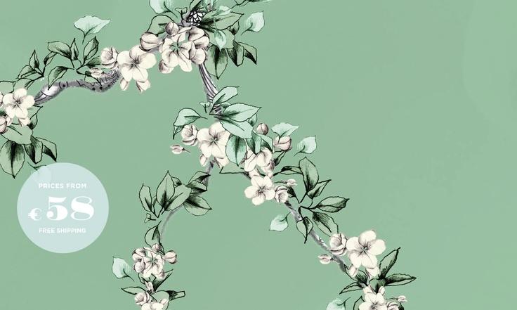 Green & Green • Light Apple-tree Flowers