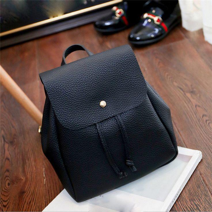 $7.72 (Buy here: https://alitems.com/g/1e8d114494ebda23ff8b16525dc3e8/?i=5&ulp=https%3A%2F%2Fwww.aliexpress.com%2Fitem%2FWoman-Shoulder-Backpack-A-Ladies-Bag-Soft-Leather-Schoolbag-Black-Fashion-Travel-College-Satchel-Mochila-Escolar%2F32794637821.html ) Woman Shoulder Backpack A Ladies Bag Soft Leather Schoolbag Black Fashion Travel College Satchel Mochila Escolar Backpacks Gift for just $7.72