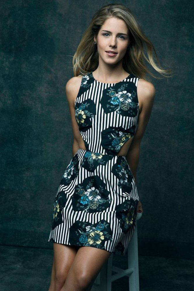 Emily Bett Rickards - The Hollywood Reporter 2013 photoshoot