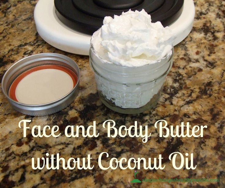 DIY: Face and Body Butter without Coconut Oil