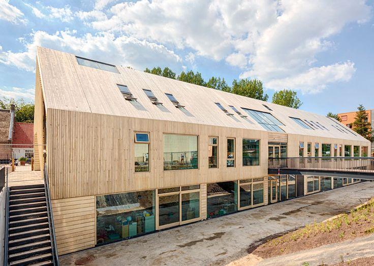 Early Childhood Centre school in Wassenaar by Kraaijvanger