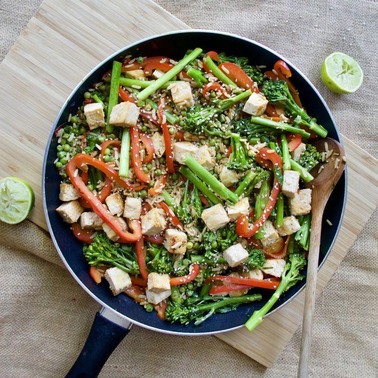 Veggie Fried Rice Gluten free Lactose Free Low FOMDAP
