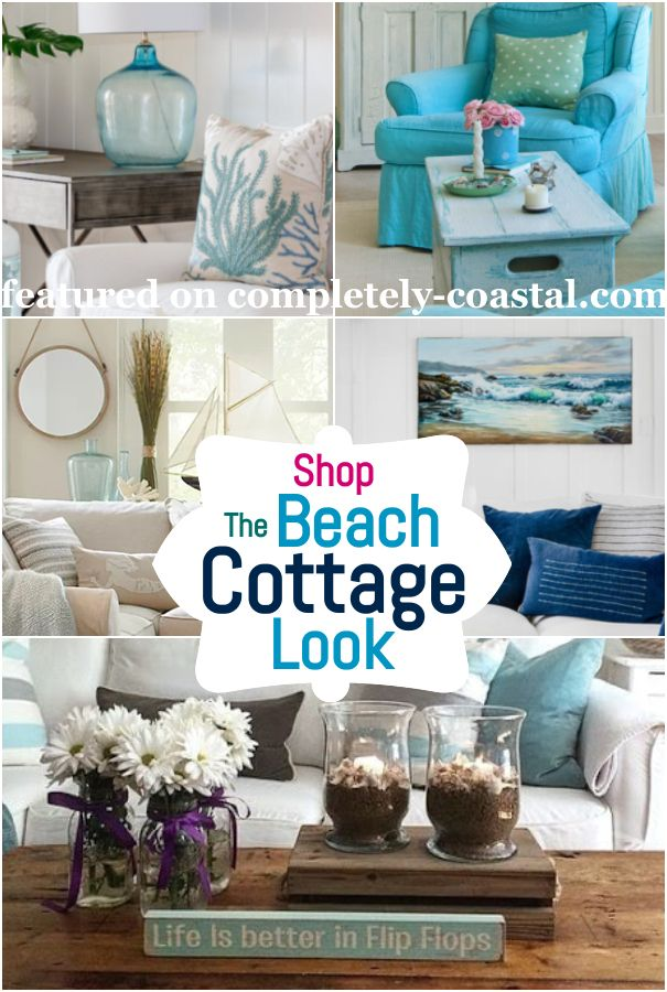 26 Small Cozy Beach Cottage Style Living Room Interior Design Decor Ideas Cottage Style Living Room Beach Cottage Style Living Room Beach Cottage Design
