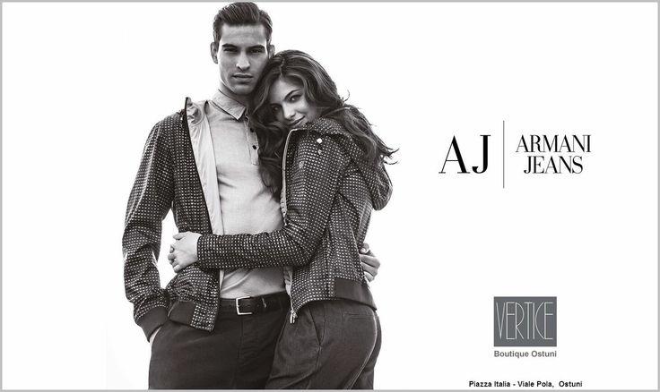 Armani Jeans nuova collezione PE 2016 disponibile in boutique