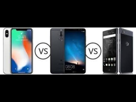 Blackberry Motion vs iPhone X 2018 Camera test