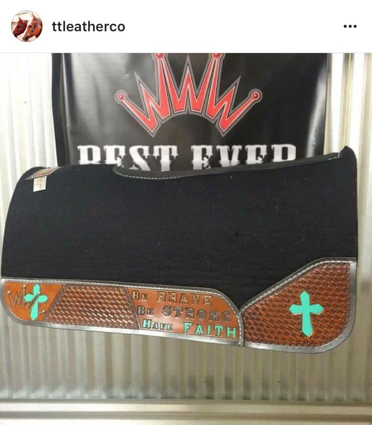 Custom western saddle pad, #besteverpads by tlleatherco