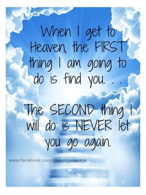 do we meet our loved ones in heaven