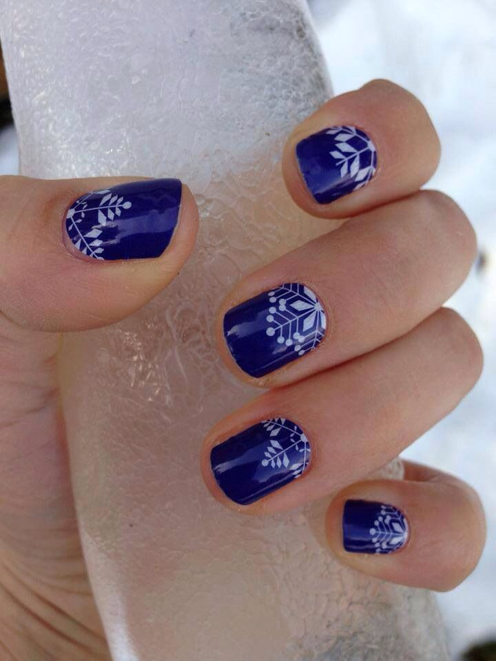 One of my favorite Jamberry wraps is Crystalline! http://hollylaine.jamberrynails.net