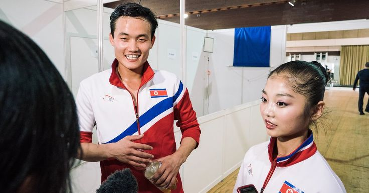 North Korean Figure Skaters Qualify for Olympics, Easing Tensions