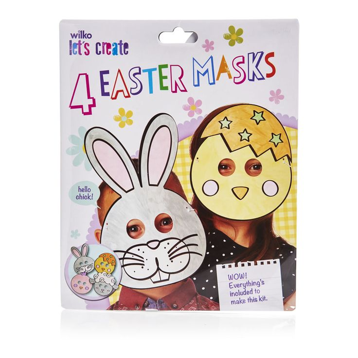 30 best wilko easter bonnet crafts images on pinterest wilko easter paper mask 4pk negle Images