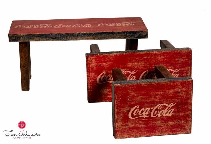 Coca-Cola bench