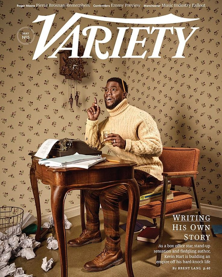 """1,339 Likes, 12 Comments - Variety Magazine (@variety) on Instagram: """"COVER STORY: Kevin Hart Wants to Be the Oprah of Comedy. Read the full story at variety.com (link…"""""""