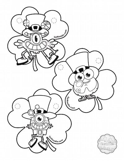 gonoodle monsters coloring pages - photo#15