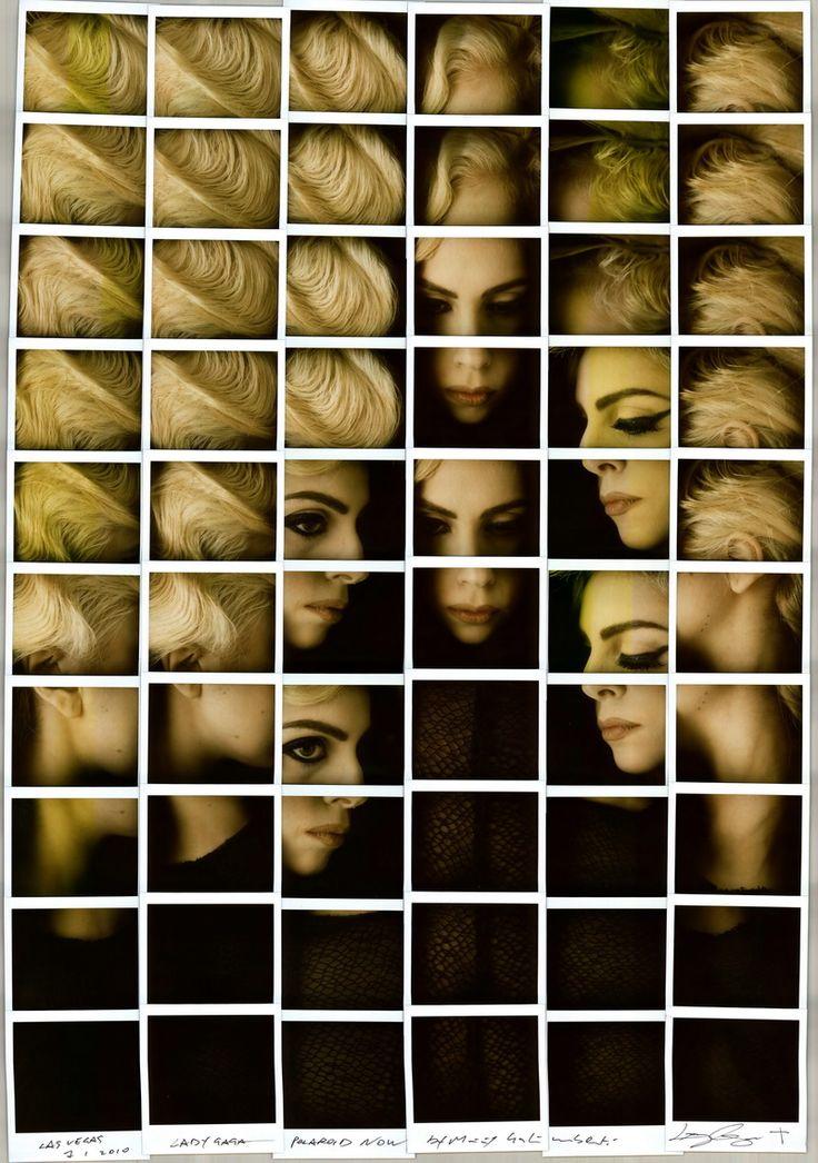Lady Gaga by Maurizio Galimberti