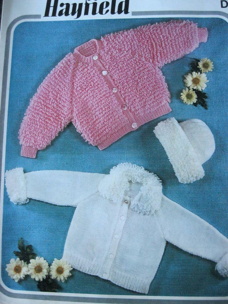 159 best childrens vintage knitting & crochet patterns images on ...