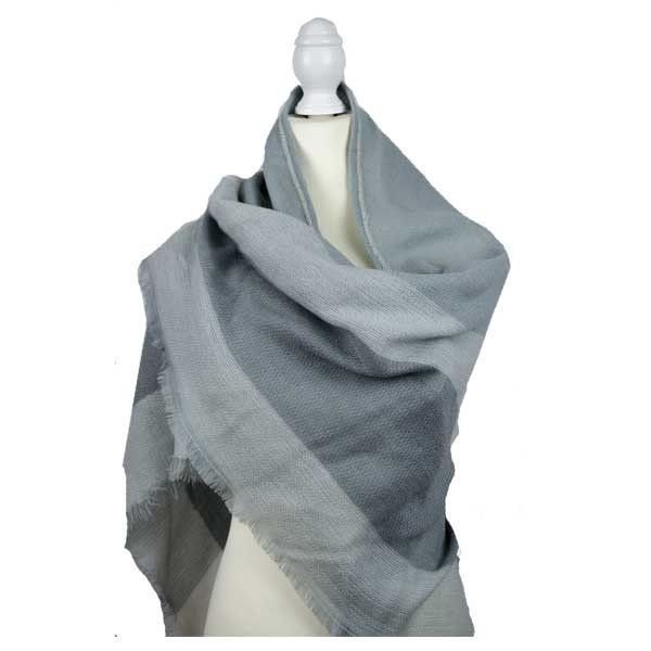 The Lomond Wrap Stay stylish and warm this winter. This fantastic large scarf/pashmina is ideal to wrap yourself up in and look effortlessly on trend this season.      Triangular shape scarf (190cm x 140cm x 140cm)     Super soft
