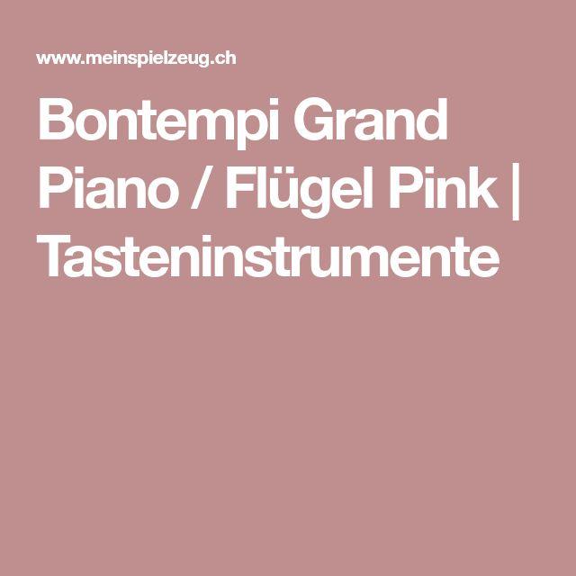 Bontempi Grand Piano / Flügel Pink | Tasteninstrumente