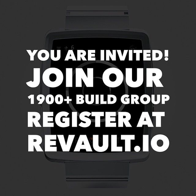 """Visit REVAULT.IO or follow the link in our bio! You are invited to help build and launch Revault - the world's first wearable private cloud. So far we have more than1900 members in our Build Group."" http://Revault.io #wearabletech #fashiontech"