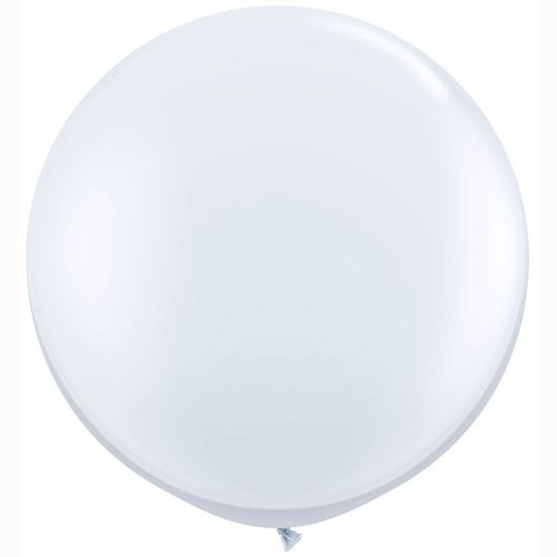 White Giant Balloons and Giant Wedding Balloons by The Giant Balloon Company. www.thegiantballooncompany.com *White*