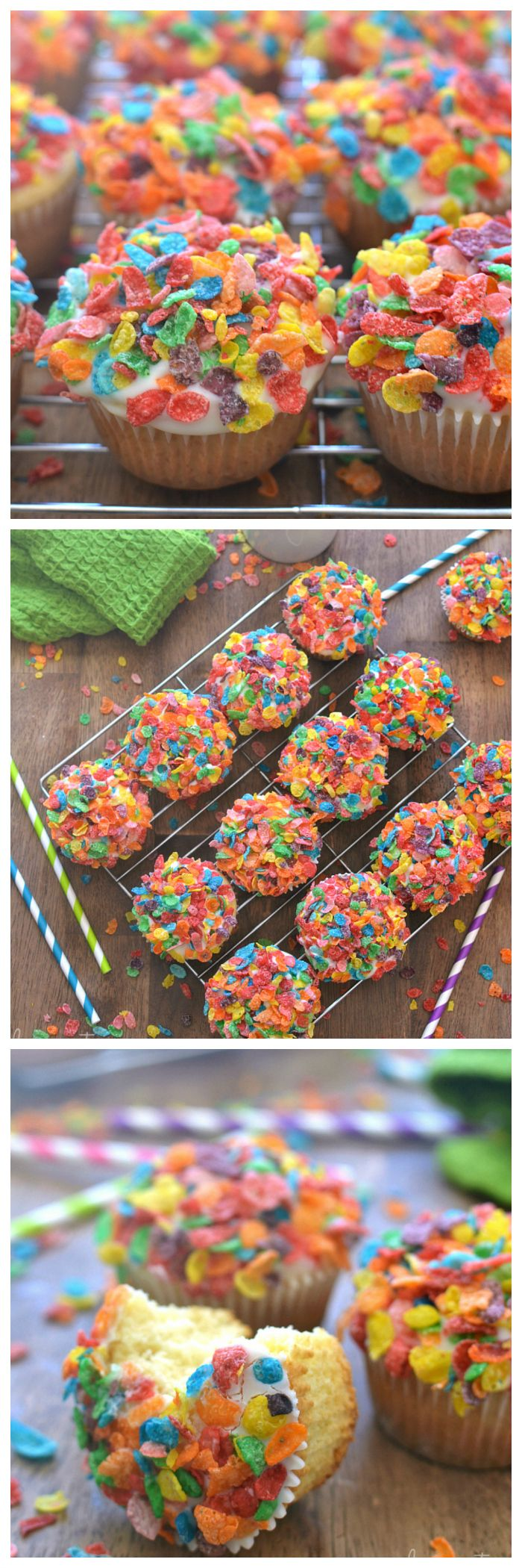 Fruity Pebbles Muffins