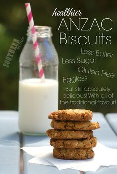 Recipe: Healthier ANZAC Biscuits