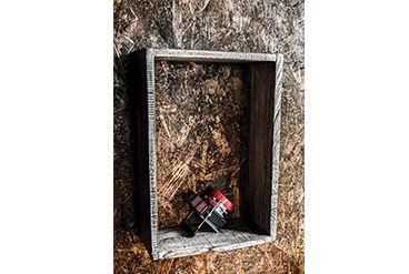 Repisa 35X50CM  Acabado natural o patinado en madera antigua. Costo X Unidad: 40.000 pesos