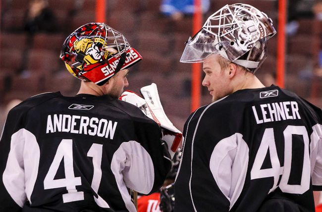 Great goalie tandem!