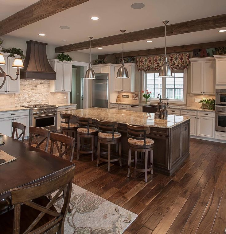 32 Magnificent Custom Luxury Kitchen Designs By Drury Design: Traditional Images On Pinterest