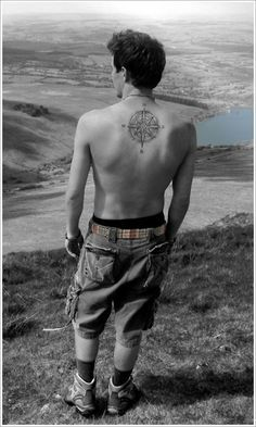 Cool Compass Tattoo Designs: Masculine Compass Tattoo Designs Picture ~ Cvcaz Tattoo Art Ideas ~ Tattoo Design Inspiration