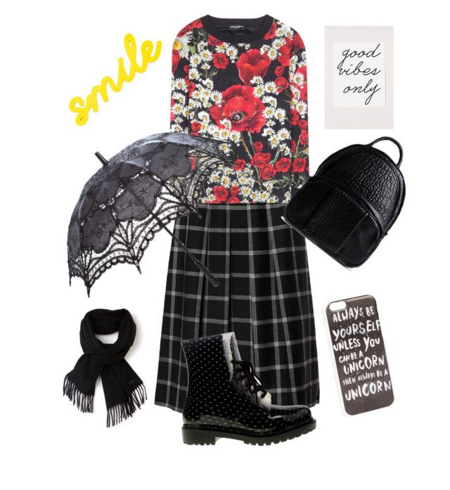 """mood today"" by leelin on Polyvore featuring Chinese Laundry, Dolce&Gabbana, Lacoste, Alexander Wang, JFR, women's clothing, women, female, woman and misses"