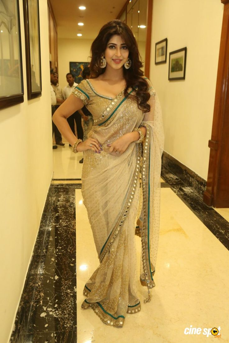 TV Actor #Sonarika_Bhadoria Saree, Hair...