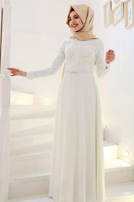 Gamze Özkul Ekru Deri Detaylı Elbise 274.90 TL  http://alisveris.yesiltopuklar.com/gamze-ozkul-ekru-deri-detayli-elbise.html
