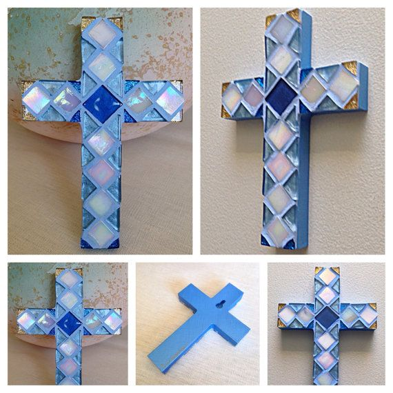 Baptism Gift for Boy Faith Based GIft Ready to by HamptonMosaics