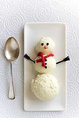 icecream snowman from Georgie Porgie