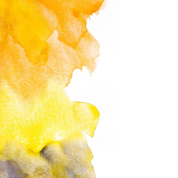 Telechargez Un Fond De Tache Aquarelle Orange Et Jaune
