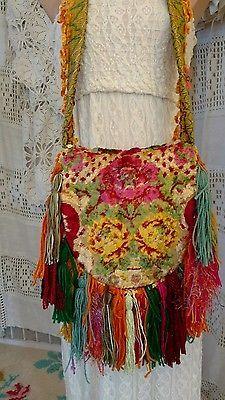Feito à mão Festival Franja Bolsa DE OMBRO CIGANO HIPPIE BOHO hobo bolsa tmyers