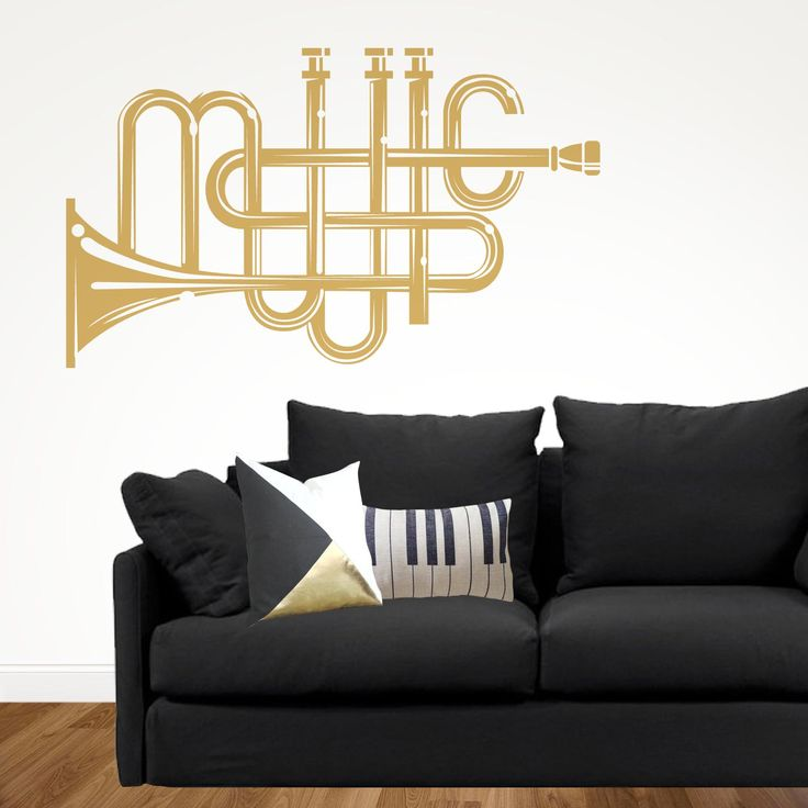 Las 25 mejores ideas sobre decoraci n de pared musical en for Vinilo decorativo musical pared