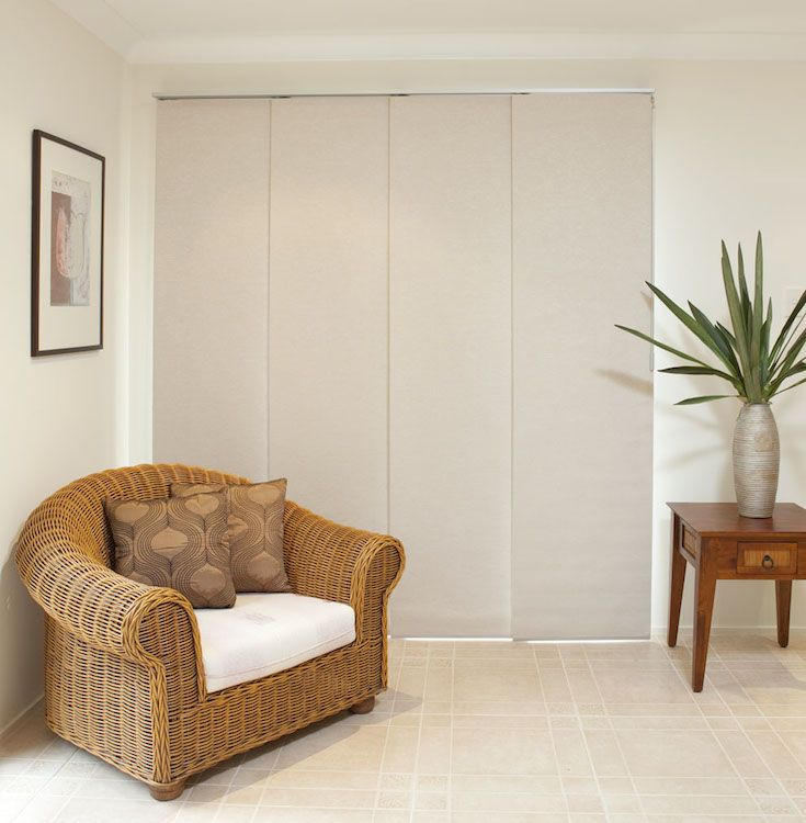 Panel Glides #blinds #home #decor