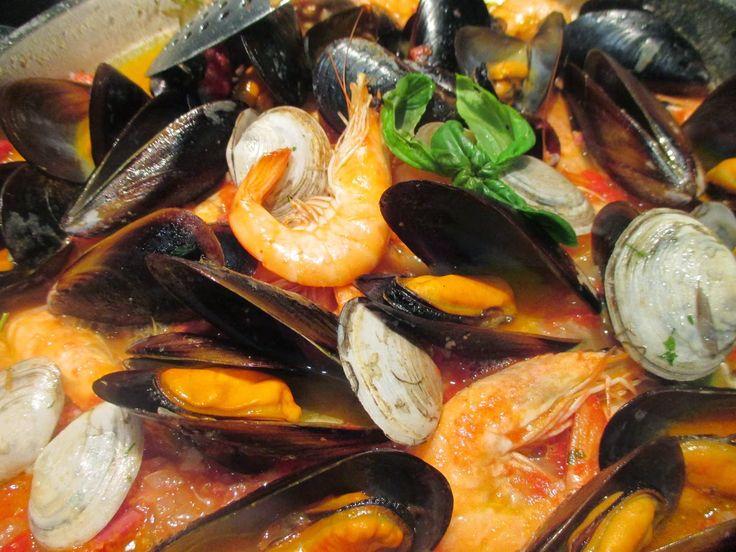 Receitas Especiais: Frigideira de Frutos do Mar