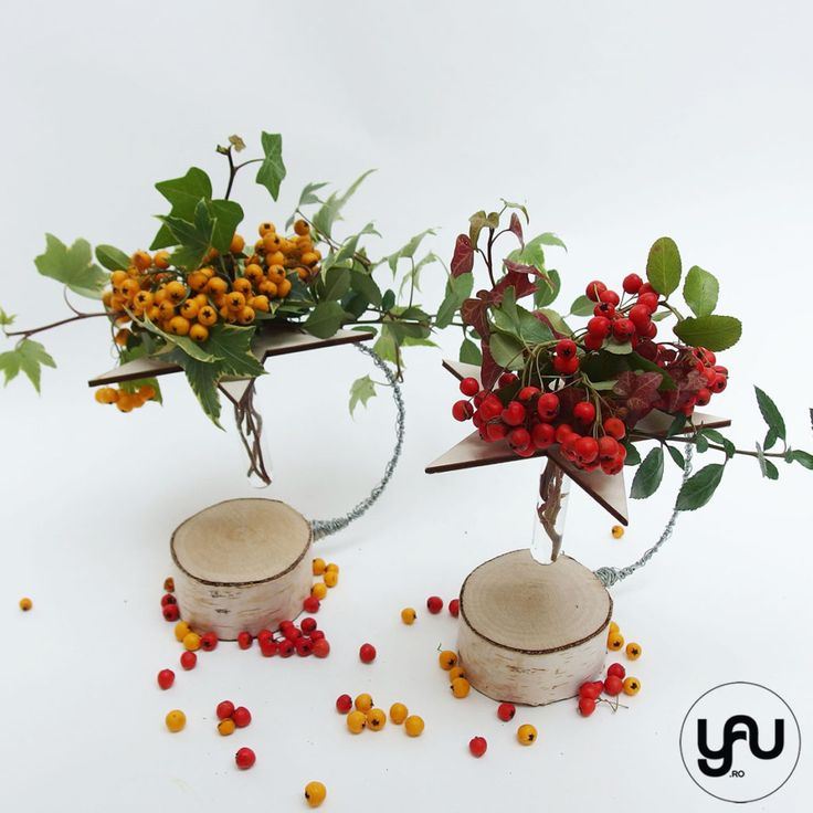 bobite colorate intr-un aranjament floral cu lemn _ yauconcept _ elenatoader (3)