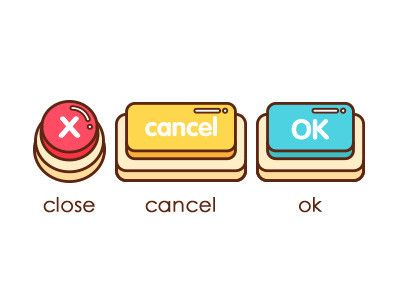 game icon and button...