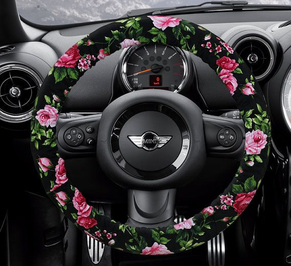 Steering Wheel Cover Bow Car Accessories Lilly Heated For Girls Interior Aztec Monogram Tribal Camo Cheetah Sterling BUY 2 GET 1 FREE