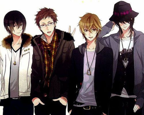 Anime- Friends Forever - YouTube  |Anime Group Of Friends Boys And Girls