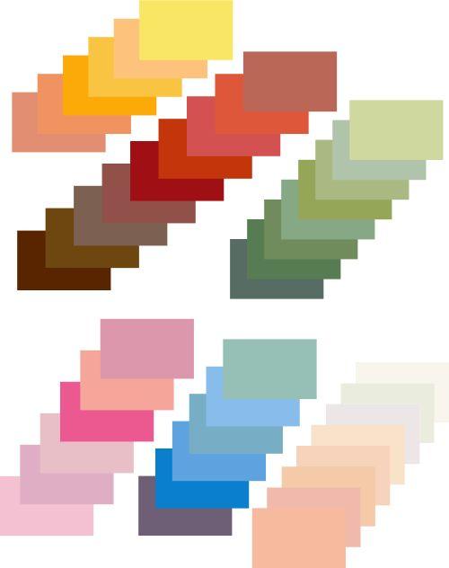 Edwardian interior colours  (http://www.bricksandbrass.co.uk)