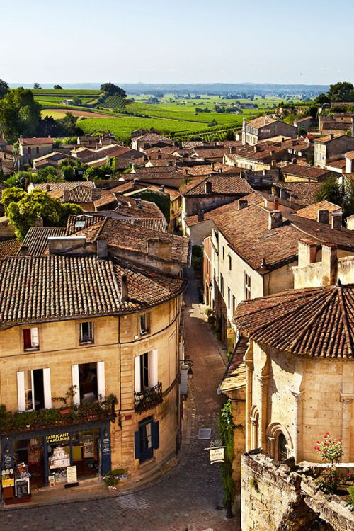 Saint-Émilion, one of the oldest wine towns in southwest France, has more than 90 wine chateaux producing hundreds of wines. Its viticultural heritage stretches back to Roman times // photo by Matt Munro