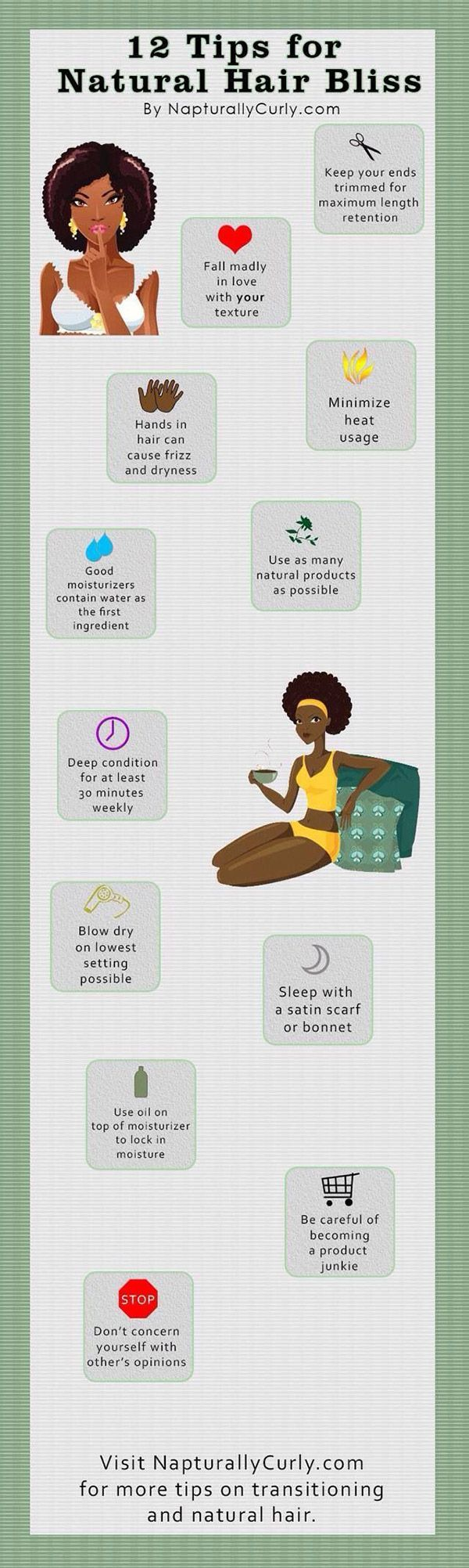 natural hair care tips and tricks